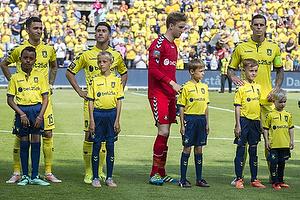David Boysen (Br�ndby IF), Frederik Holst (Br�ndby IF), Frederik R�nnow (Br�ndby IF), Daniel Agger, anf�rer (Br�ndby IF)