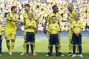 Riza Durmisi (Br�ndby IF), Andrew Hjulsager (Br�ndby IF), Lebogang Phiri (Br�ndby IF), Johan Larsson (Br�ndby IF)
