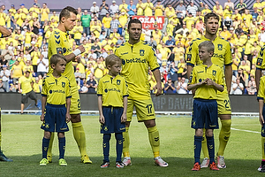 Kamil Wilczek (Br�ndby IF), Riza Durmisi (Br�ndby IF), Andrew Hjulsager (Br�ndby IF)