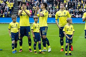 Christian N�rgaard (Br�ndby IF), Svenn Crone (Br�ndby IF), Jesper Lindorff Juelsg�rd (Br�ndby IF)