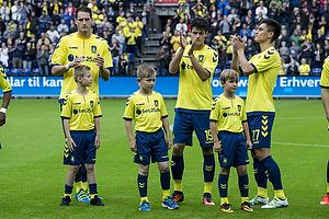 Benedikt R�cker (Br�ndby IF), Christian N�rgaard (Br�ndby IF), Svenn Crone (Br�ndby IF)