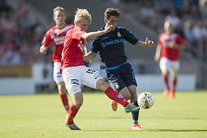 Frederik Holst (Br�ndby IF), Gustav Dahl (Silkeborg IF)