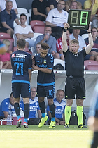 Hany Mukhtar (Br�ndby IF), Andrew Hjulsager (Br�ndby IF)