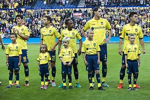 Christian N�rgaard (Br�ndby IF), Andrew Hjulsager (Br�ndby IF), Lebogang Phiri (Br�ndby IF), Benedikt R�cker (Br�ndby IF), Svenn Crone (Br�ndby IF)