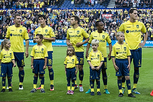 Martin Albrechtsen (Br�ndby IF), Christian N�rgaard (Br�ndby IF), Andrew Hjulsager (Br�ndby IF), Lebogang Phiri (Br�ndby IF), Benedikt R�cker (Br�ndby IF)