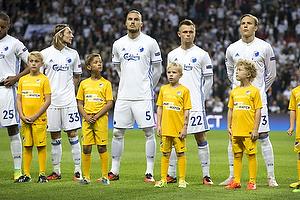 Rasmus Falk (FC K�benhavn), Erik Johansson (FC K�benhavn), Peter Ankersen (FC K�benhavn), Ludwig Augustinsson (FC K�benhavn)