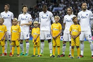 William Kvist (FC K�benhavn), Mathias Zanka J�rgensen (FC K�benhavn), Rasmus Falk (FC K�benhavn), Erik Johansson (FC K�benhavn)