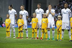 Federico Santander (FC K�benhavn), Benjamin Verbic (FC K�benhavn), William Kvist (FC K�benhavn), Mathias Zanka J�rgensen (FC K�benhavn)