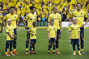Svenn Crone (Br�ndby IF), Christian N�rgaard (Br�ndby IF), Hj�rtur Hermannsson (Br�ndby IF), Benedikt R�cker (Br�ndby IF)