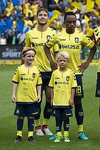 Andrew Hjulsager (Br�ndby IF), Lebogang Phiri (Br�ndby IF)