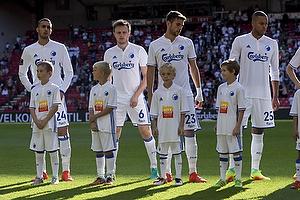 Youssef Toutouh (FC K�benhavn), William Kvist (FC K�benhavn), Andrija Pavlovic (FC K�benhavn), Mathias Zanka J�rgensen (FC K�benhavn)