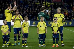 Benedikt R�cker (Br�ndby IF), Frederik Holst (Br�ndby IF), Frederik R�nnow (Br�ndby IF), Johan Larsson, anf�rer (Br�ndby IF)