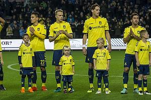 Svenn Crone (Br�ndby IF), $Hj�rtur Hermannsson (Br�ndby IF), Benedikt R�cker (Br�ndby IF)