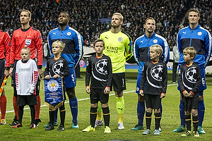 Kasper Schmeichel (Leicester FC), Wes Morgan (Leicester FC)