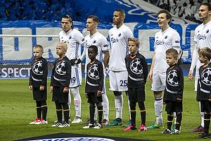 Federico Santander (FC K�benhavn), Benjamin Verbic (FC K�benhavn), Mathias Zanka J�rgensen (FC K�benhavn)