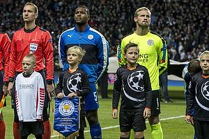 Wes Morgan (Leicester FC), Kasper Schmeichel (Leicester FC)