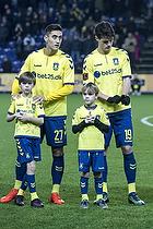 Svenn Crone (Br�ndby IF), Christian N�rgaard (Br�ndby IF)