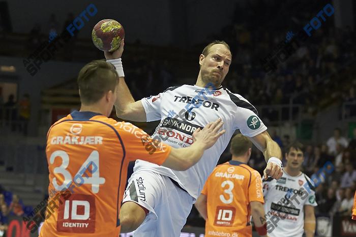 Lars J�rgensen (KIF Kolding K�benhavn), Michael Damgaard (Team Tvis Holstebro)
